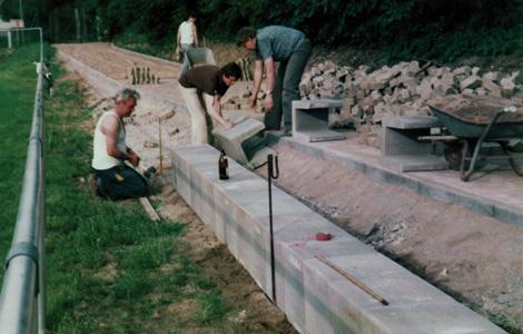 1982 – Bau der Freisportanlage