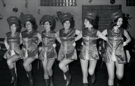 1970 – Gründungsbild der Damengarde