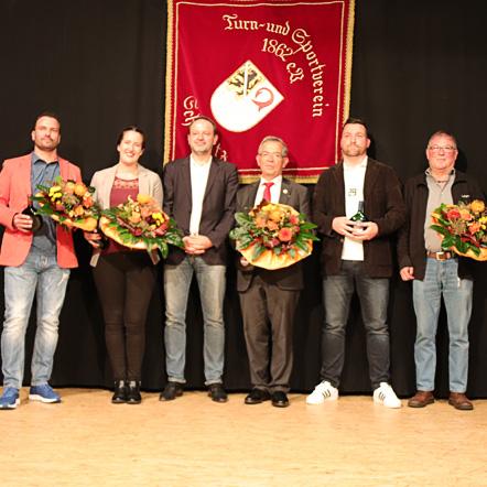 Alte & neue Vorstandschaft TSV 1862 Scheßlitz e. V.
